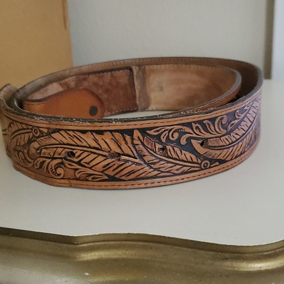 Other - Tooled leather belt